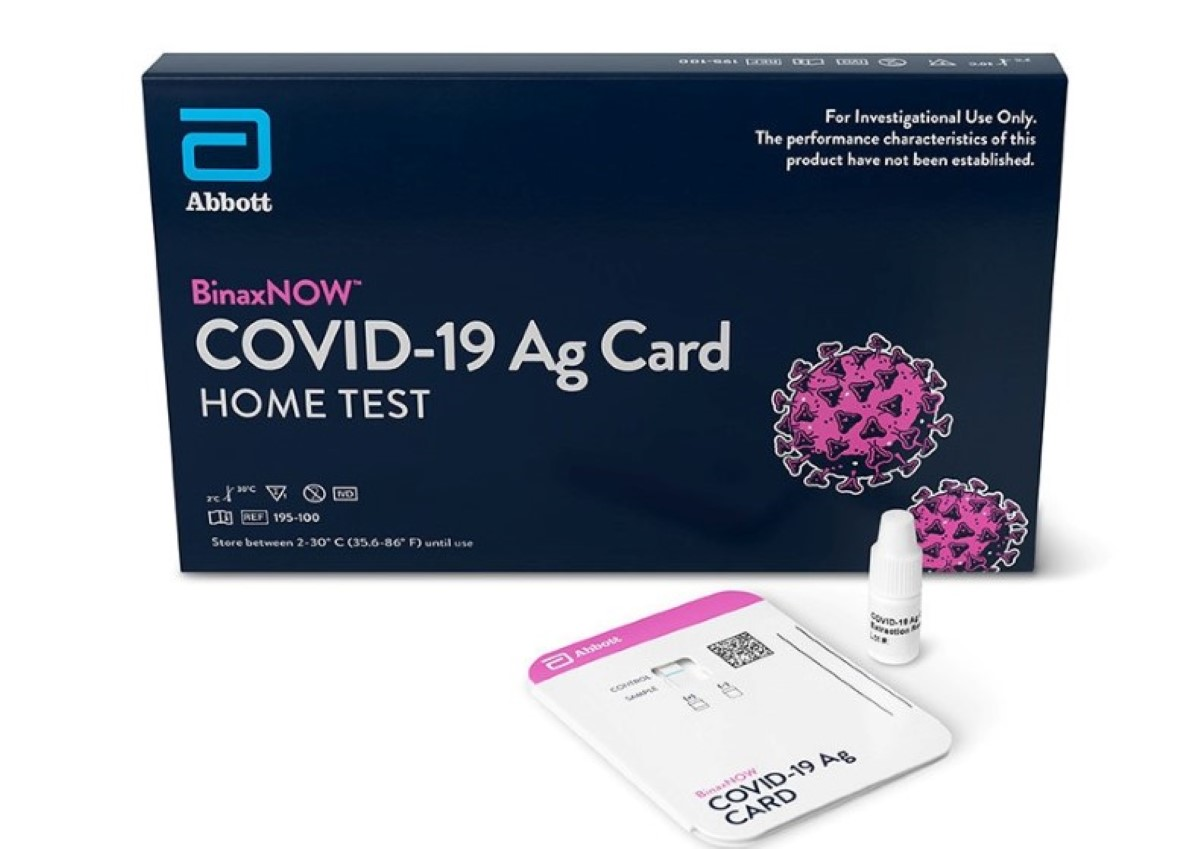 OTC COVID-19 Tests Have Abbott Seeing Continuing Demand For At-Home Diagnostics