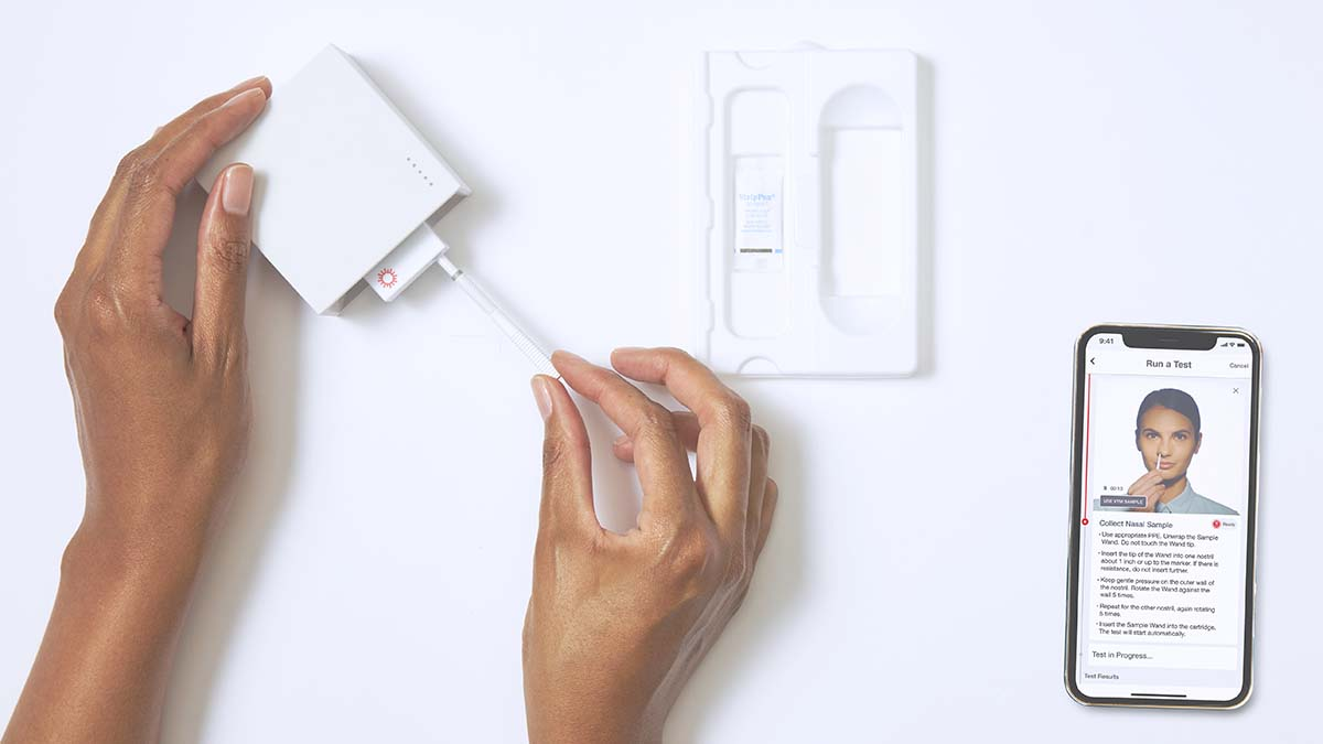 ROI For US With FDA's Emergency Use Approval Of Cue Health's OTC At-Home COVID-19 Test