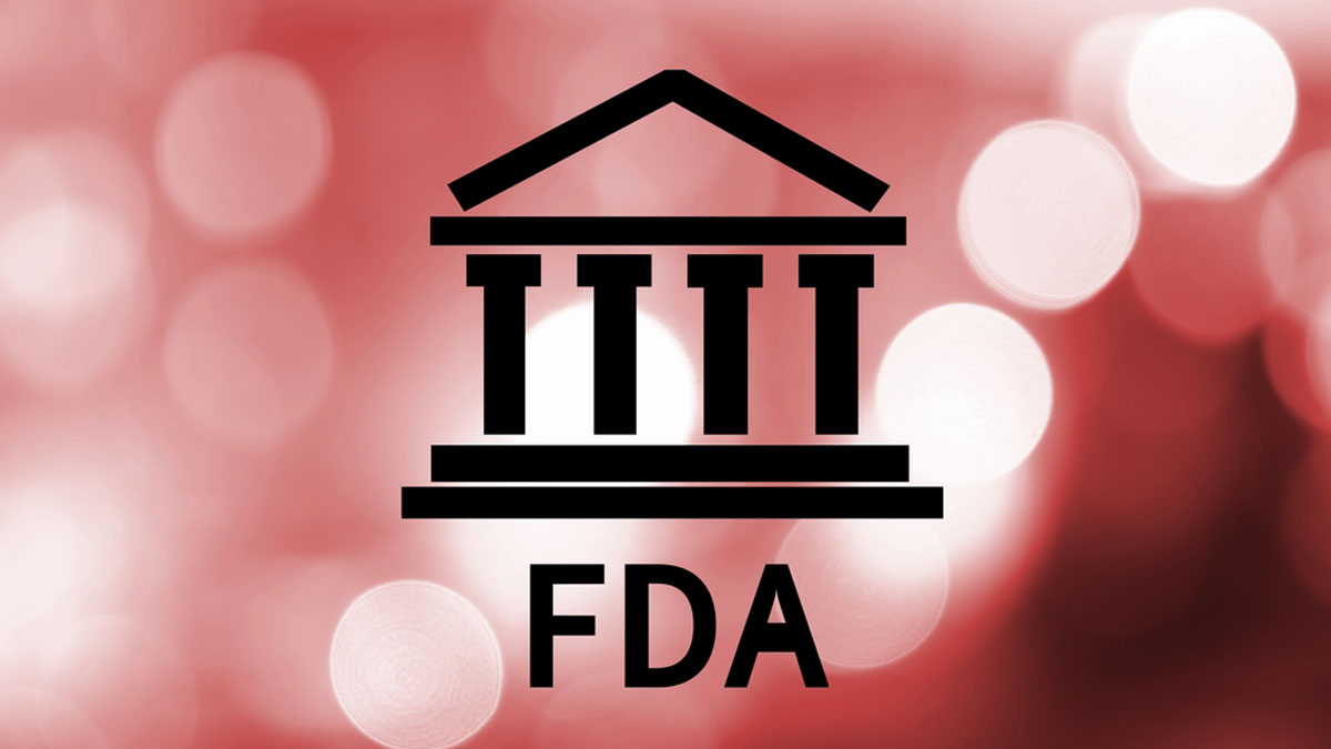 FDA words adn building icon